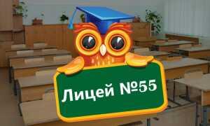 Официальный сайт лицея № 55 города Пенза