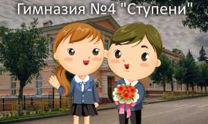 Официальный сайт пензенской гимназии №4 «Ступени»